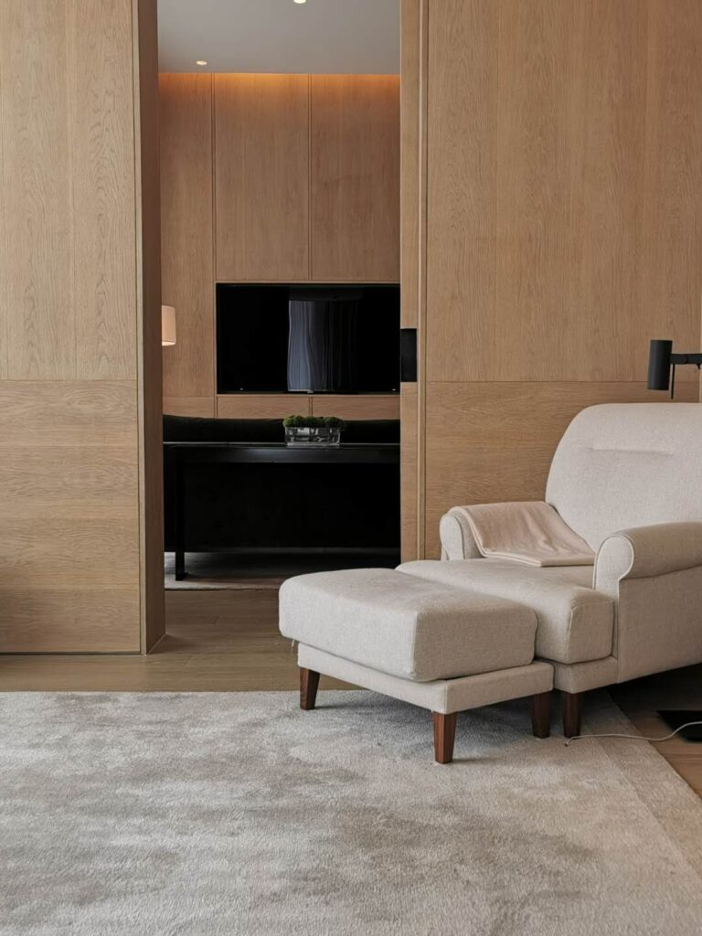 The Shanghai Edition Bedroom Lounge Chair
