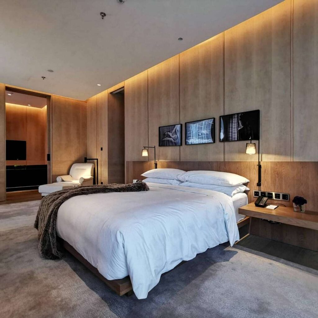 The Shanghai Edition Suite Bedroom