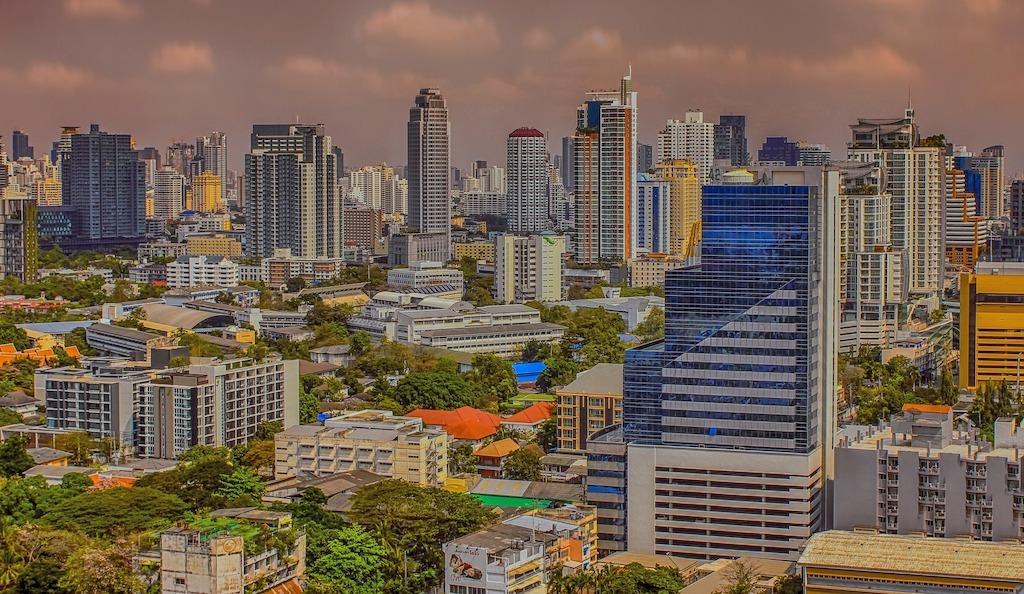The Best Time to Visit Bangkok city skyline